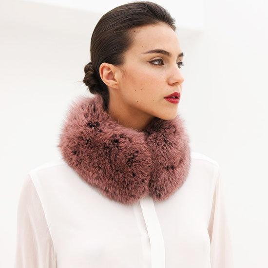 Shop Fur Collar Scarves 2012