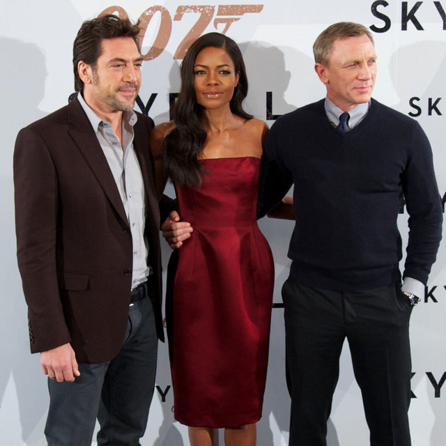 Skyfall Madrid Photo Call Celebrity Pictures of Daniel Craig