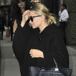 Ashley Olsen Carrying a Crocodile Bag in NYC | Pictures