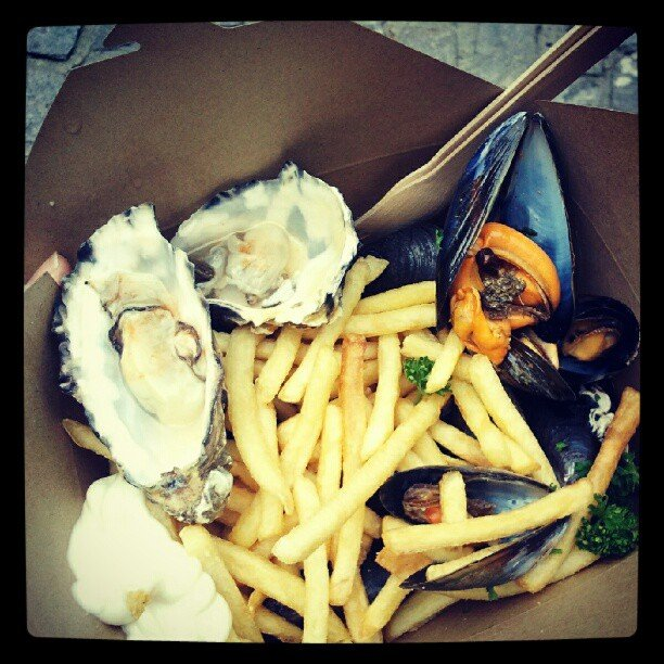 Oysters and Mussels in Britain