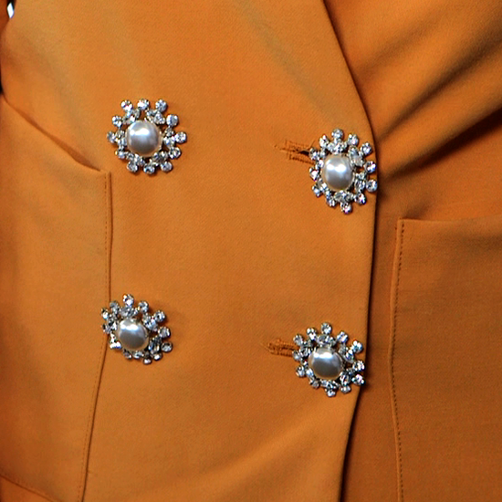 Transform a Blazer With Vintage Buttons!