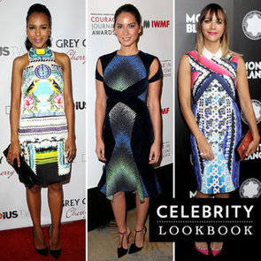 Celebrities Wear Digital Prints in October: See Our 12 Faves
