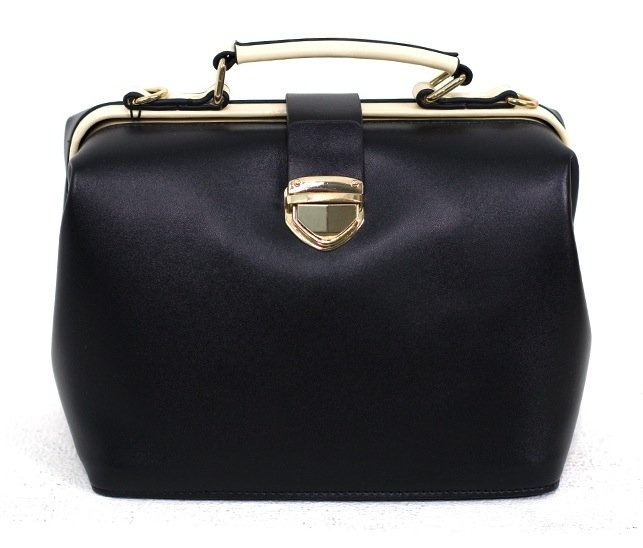 This is a classic black doctor bag courtesy of West Coast Wardrobe ($72), and it looks roomy enough to hold all of our work-day essentials.
