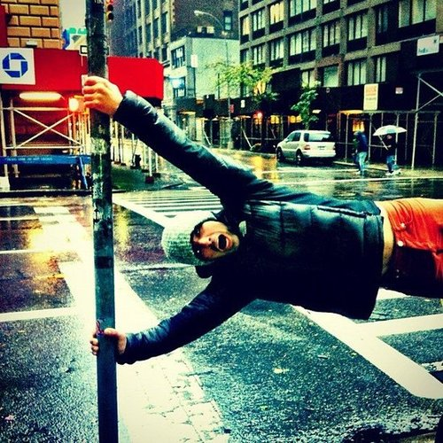 Joe Jonas got caught up during Sandy in November. Source: Instagram user adamjosephj
