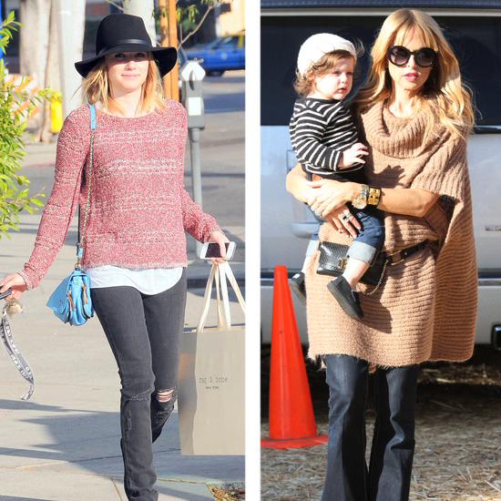 Rachel Zoe and Emma Roberts Wear Sweaters | Video