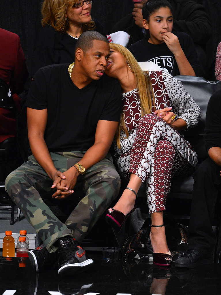 They showed PDA at the Barclays Center in November 2012.