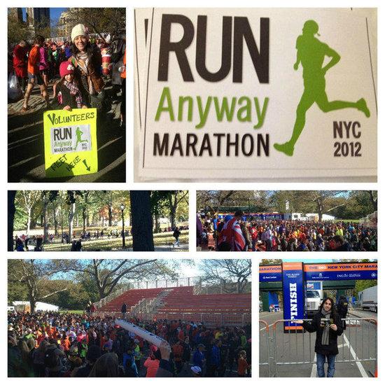 Runners Race and Volunteer on Day of New York City Marathon