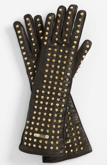 Burberry Studded Gloves