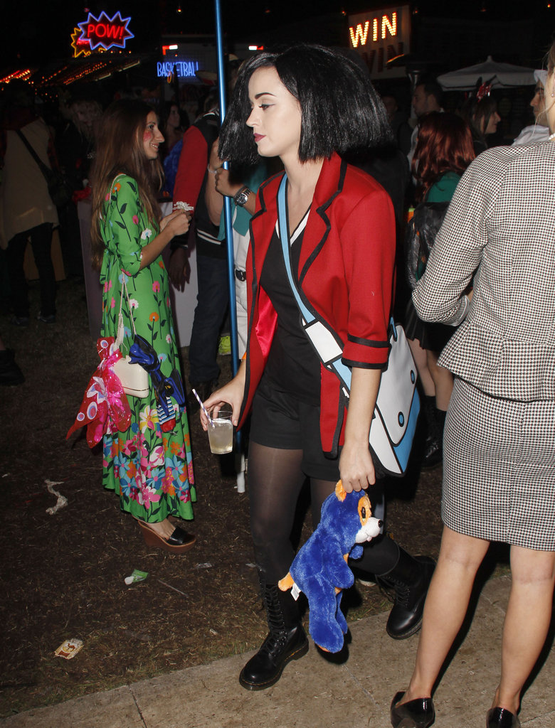 Katy Perry was Jane Lane from Daria for Halloween in LA.