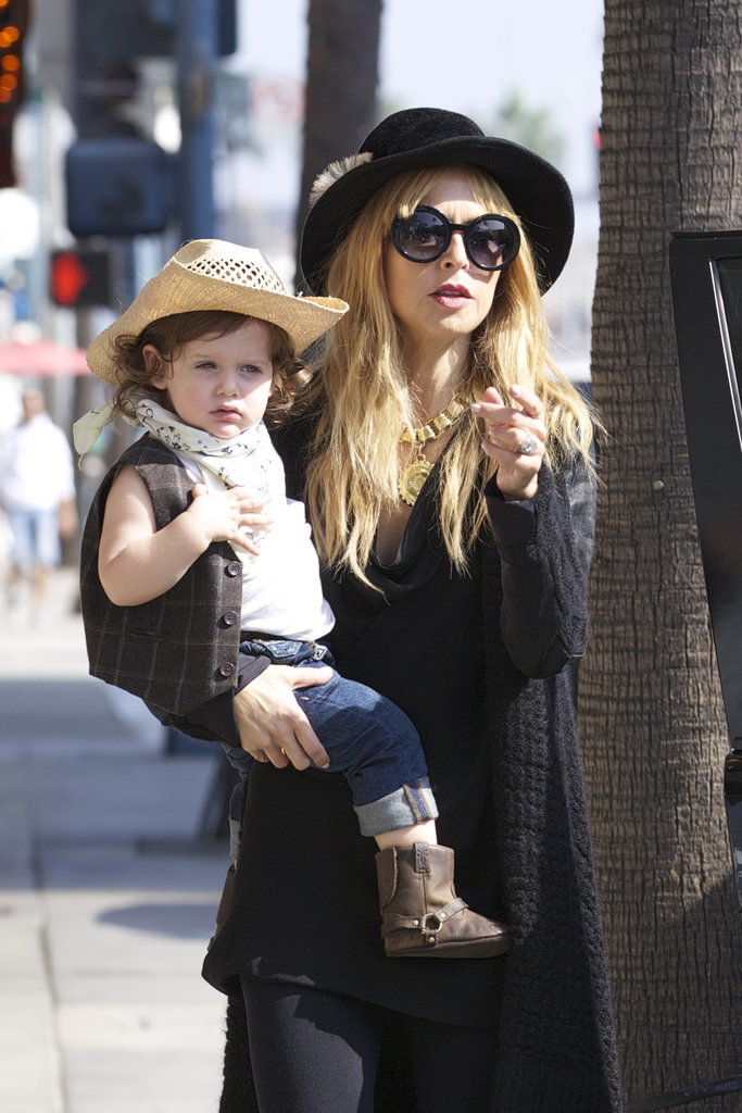 Skyler Berman went for a Wild West Halloween costume in LA with mom Rachel Zoe.