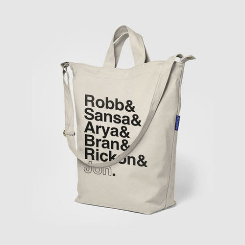 Game of Thrones Canvas Stark Siblings Tote Bag ($39)