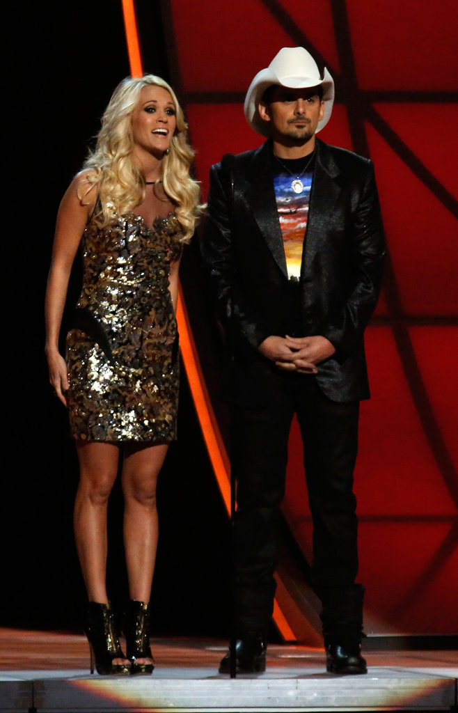 Carrie Underwood and Brad Paisley were in Nashville.