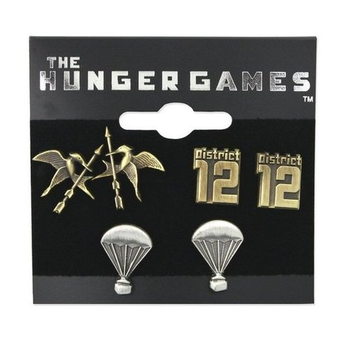 The Hunger Games Earring Set ($30)