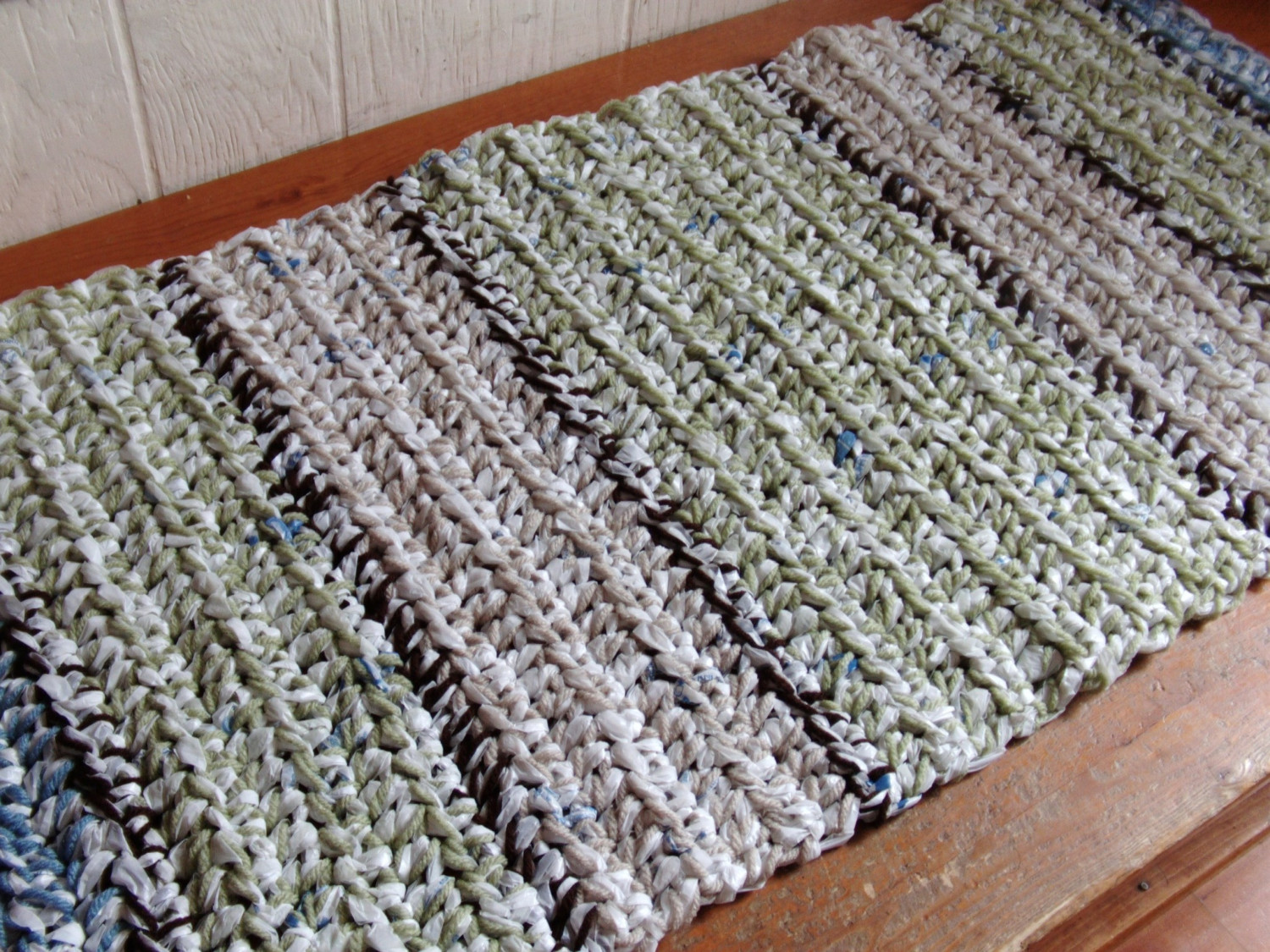 Plastic Bag Doormat 221 Upcycling Ideas That Will Blow