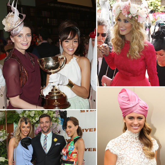 2012 Melbourne Cup Celebrity Pictures