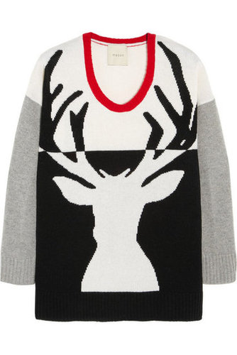 Mason by Michelle Mason Reindeer Sweater