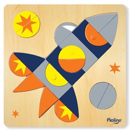 For 2-Year-Olds: P'kolino Multi-Solution Shape Puzzle
