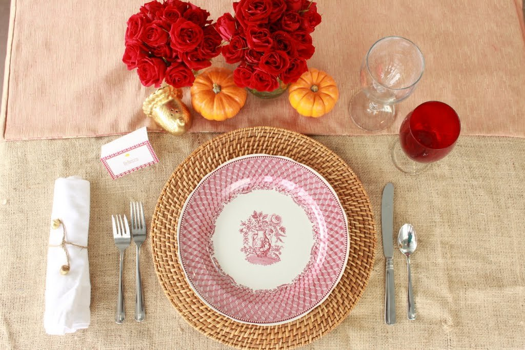 Adult Table Setting