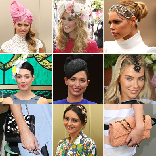 Celebrity Hats and Accessories from the 2012 Melbourne Cup