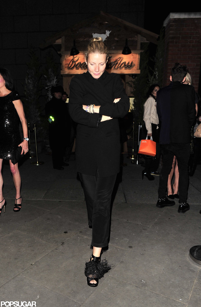 Gwyneth Paltrow stepped out in London.