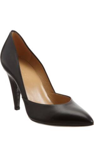 We always stress the importance of nailing the classics, and I'm about to reveal something big: I still haven't found my investment pair of black pumps. You know the ones? The ones with a timeless silhouette and a not-too-high, not-too-matronly heel? Well, I think my problems are solved with this structural pair by Balenciaga ($655). They are perfect for wearing with my beaten-up boyfriend jeans or a really feminine dress, and with New Year's Eve on the horizon, I know these pumps wouldn't fail me. — Marisa Tom, associate editor