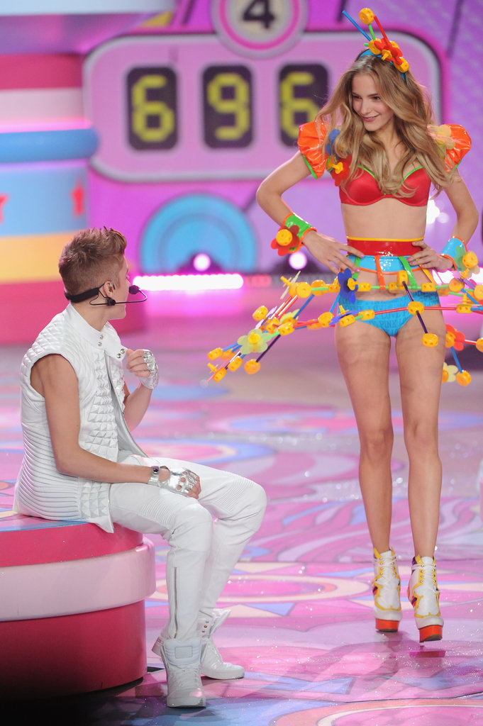 Justin Bieber and Maud Welzen