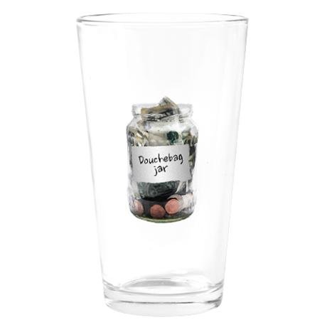 New Girl Douchebag Jar Drinking Glass ($16)