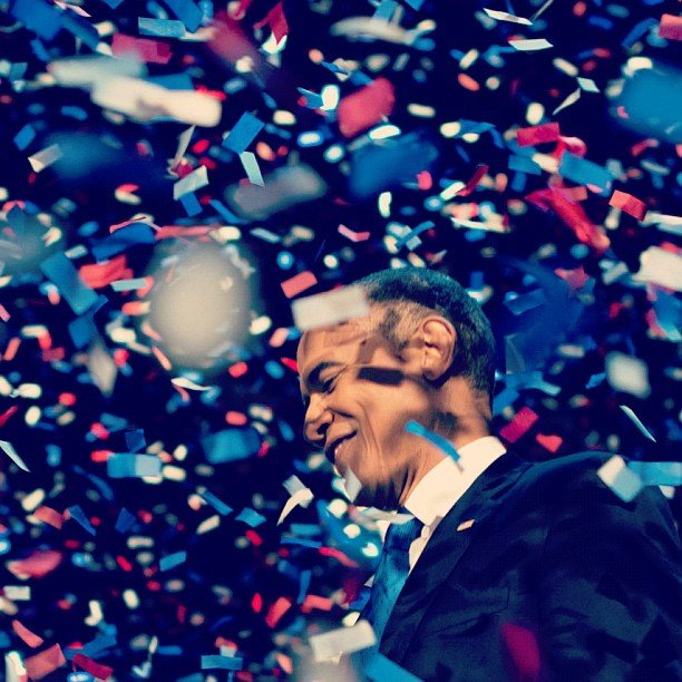 Barack Obama thanked American voters. Source: Instagram user barackobama