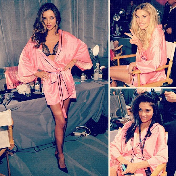 Hey, pretties! We kept a close eye on these gorgeous girls for our massive Victoria's Secret gallery.