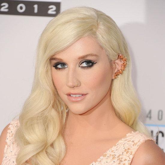 Kesha American Music Awards Beauty Look 2012