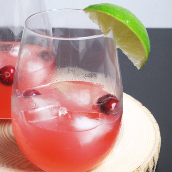 Cranberry Sauce Cocktail Recipe