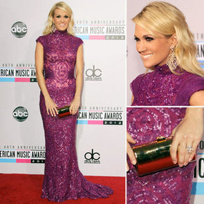 Carrie Underwood at American Music Awards