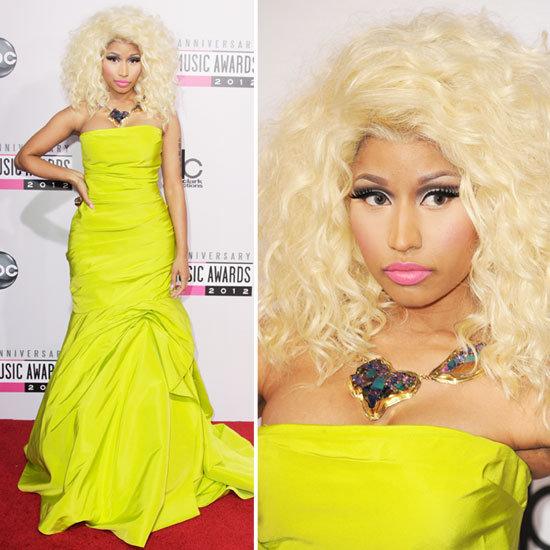 Pictures of Nicki Minaj at the American Music Awards