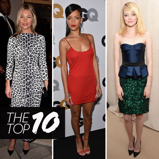 Top 10 Best Dressed Of The Week: Rihanna, Emma, Kate & More!