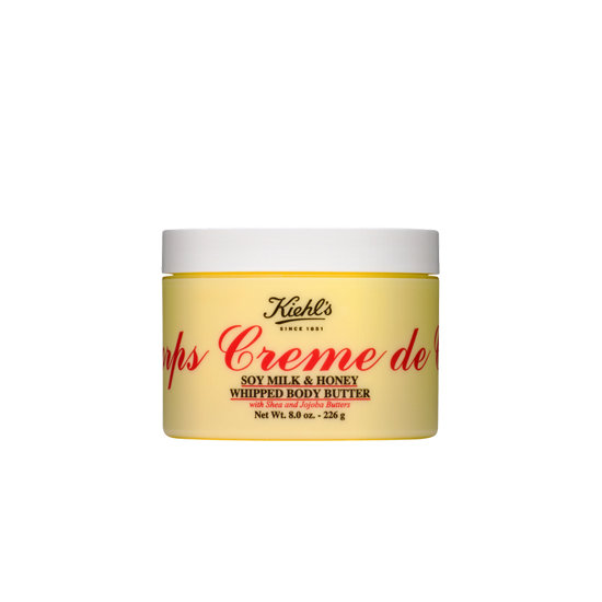 With Kiehl's Soy Milk & Honey Whipped Body Butter ($38-$48), you'll stay hydrated for 24 hours and get deliciously scented skin.