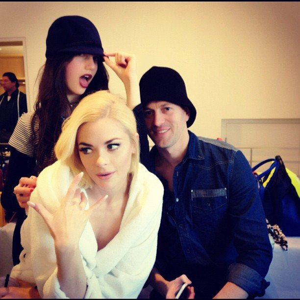Jaime King had fun at an InStyle photo shoot. Source: Instagram user jaime_king