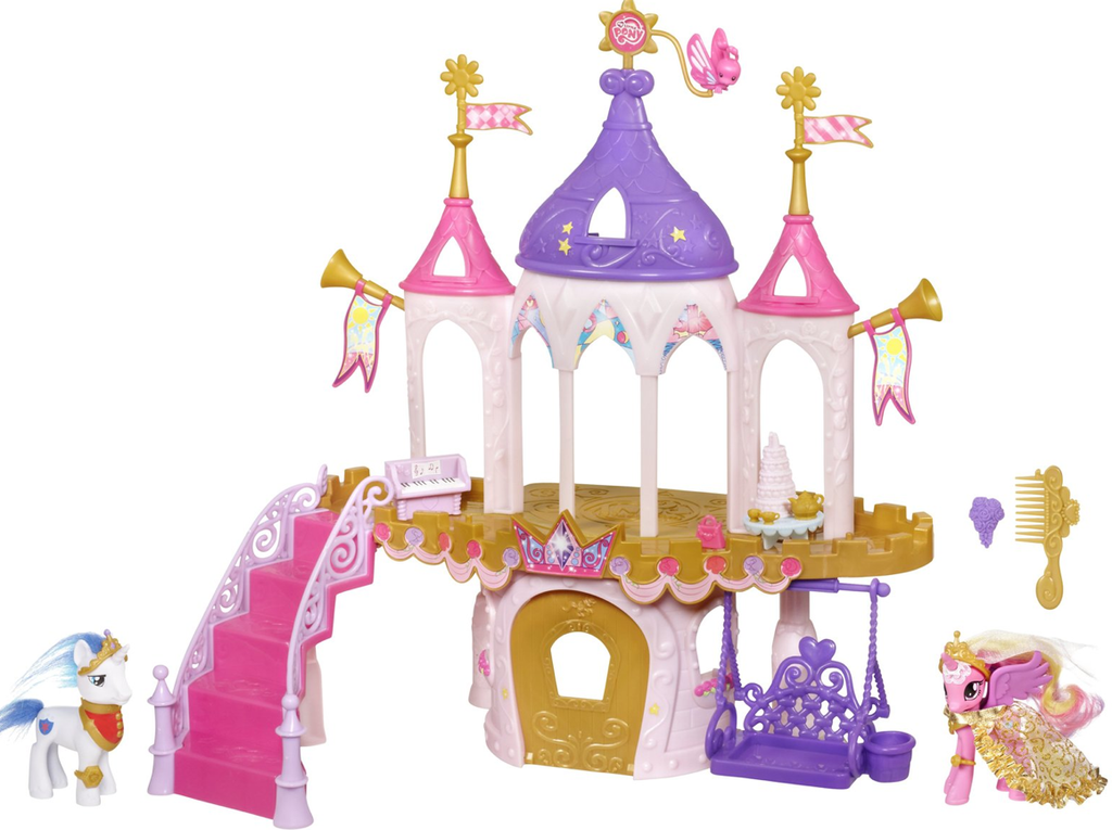 For 4-Year-Olds: My Little Pony Royal Wedding Castle Playset