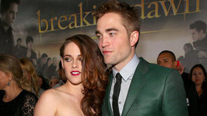 "Video: Kristen's Racy Dress, Rob's ""Ballsy"" Comment at Breaking Dawn Premiere!"