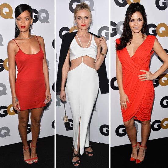 Rihanna Diane Kruger Jaime King At GQ Man Of The Year Awards