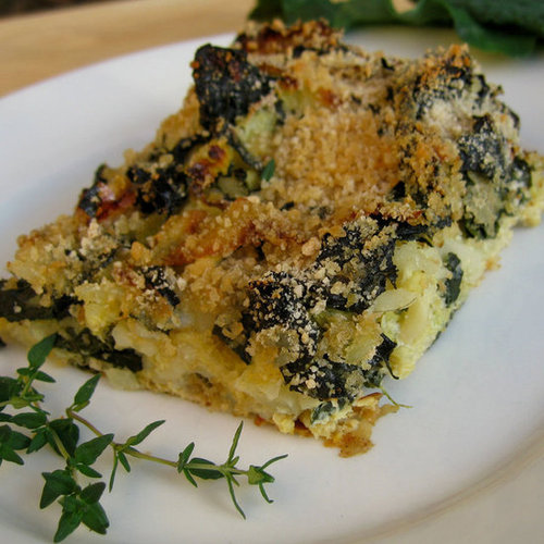 Provençal Kale and Cabbage Gratin From the New York Times