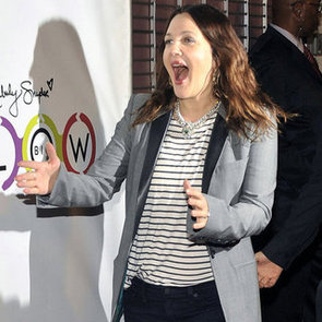 Drew Barrymore Post-Baby Pictures at Glow Bio Event