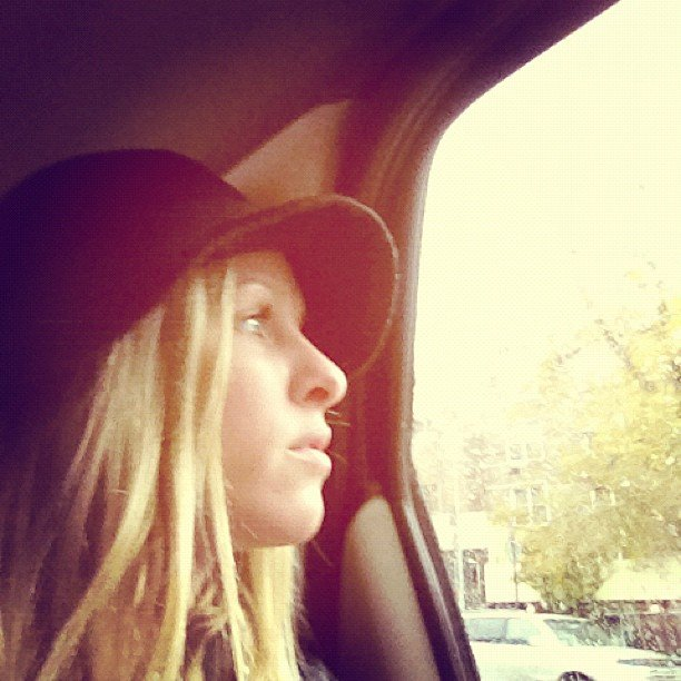 Nicky Hilton went for a rainy-day ride in NYC. Source: Instagram user nickyhilton