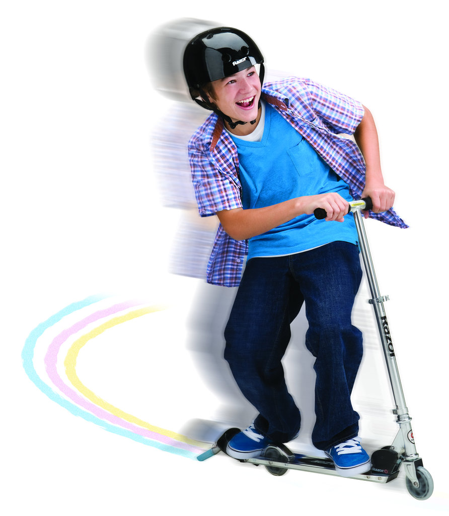 For 5-Year-Olds: Razor Graffiti Chalk Scooter
