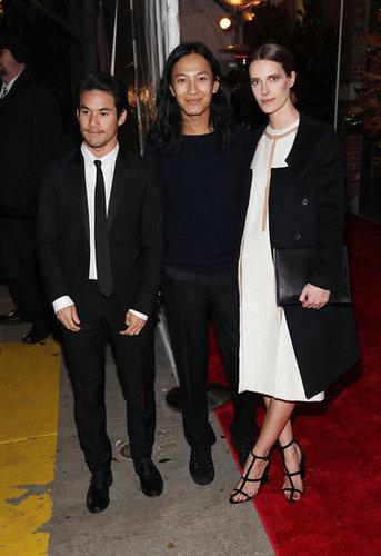 Joseph Altuzarra, Alexander Wang, and Vanessa Traina