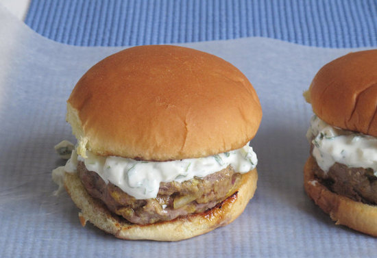 Indian Spiced Burgers