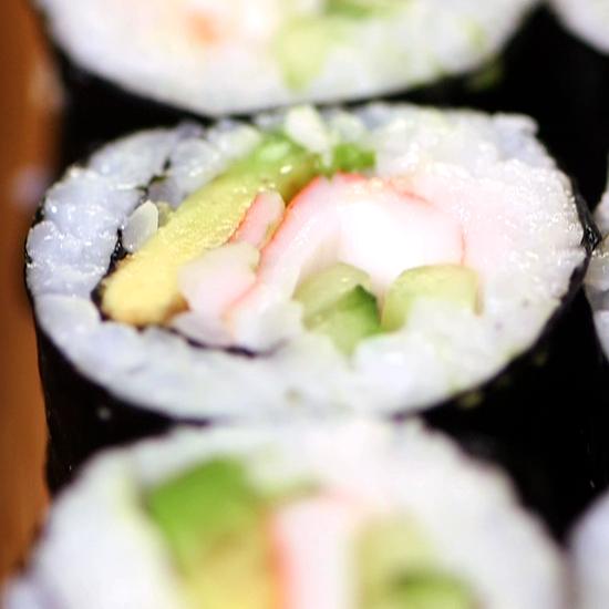 California Sushi Roll Recipe | Video