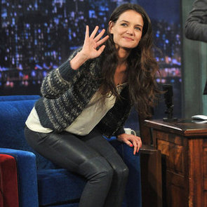 Katie Holmes Plays Charades On Late Night With Jimmy Fallon
