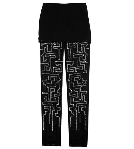 Phillip Lim's Sequin-Embellished Chiffon Pants and Skirt Set ($485) is perfect for work when paired with a blazer and sleek heels.