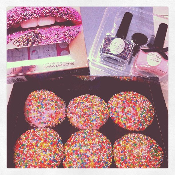 Cupcakes! These goodies arrived on our desks mid-morning on a Monday. . .