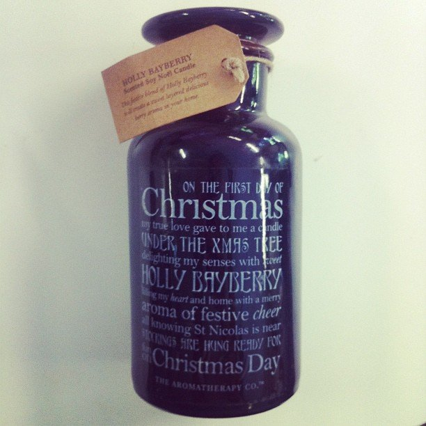 How cute is this The Aromatherapy Co. candle? It smells exactly like Christmas, and is only $24.95.